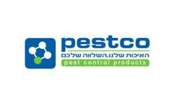 לוגו pestco- הדברות השפלה